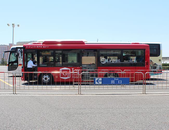 ディズニーランドからバス乗り場まで⑪